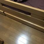 弟のベッド
