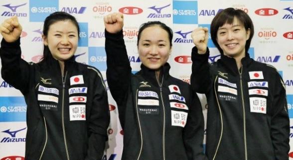 女子団体銅メダル