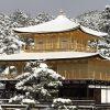 【画像あり】雪化粧をした京都の金閣寺、清水寺、伏見稲荷などが美しすぎる